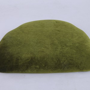 velvet Hard cushions Mustard green