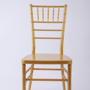 Resin Chiavari chair Golden