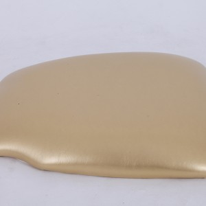 PU Hard cushions Golden