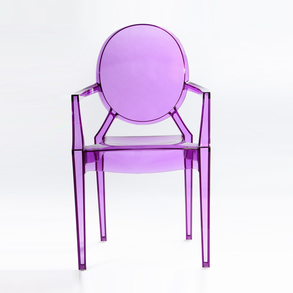 Factory made hot-sale Resin Transparent Castle Chair -