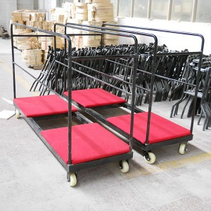 Trolley for Round Folding Table