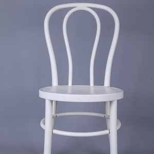 PP Resin thonet chairs white