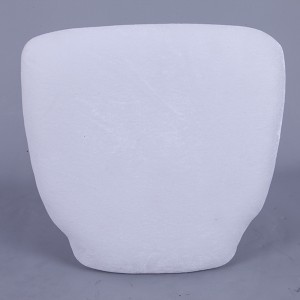 PU Hard cushions white