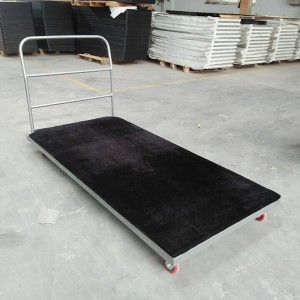 Trolley for rectangle tables,