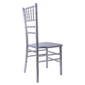 USA style chiavari chair silvery