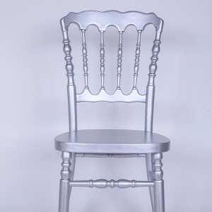 UK style napolan chair Golden silvery