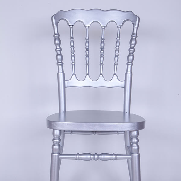 Factory wholesale Silver Color Wood Phoenix Chair -