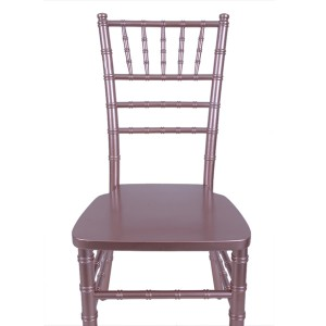 USA stil chiavari stol Rose Gold