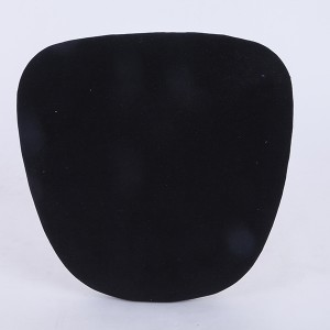 velvet Hard cushions  black