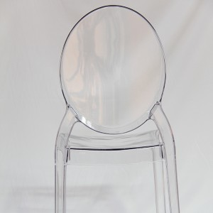 Resin sofia chairs 36-9007L Transparent