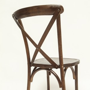 cross back chair(large seat) M2