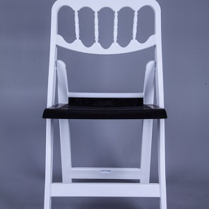 routine-Resin Napoleon chair black and white