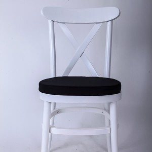 Wooden tuscan chairs white