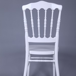 antique napoleon chair white