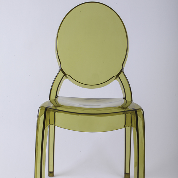 OEM China Crystal Napoleon Chair For Wedding -