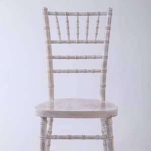 Uk style chiavari chair wash white