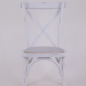 Буково дрво премине назад столот Ретро бело