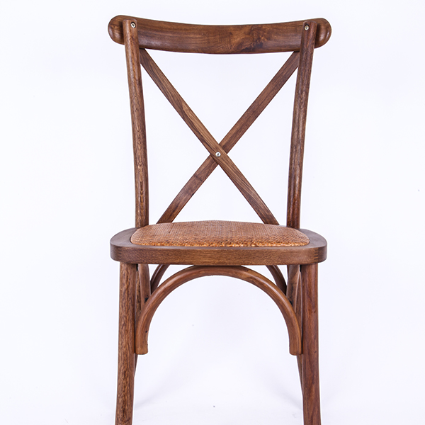 Wooden cross back chairs nufurn Rattan Featured Image