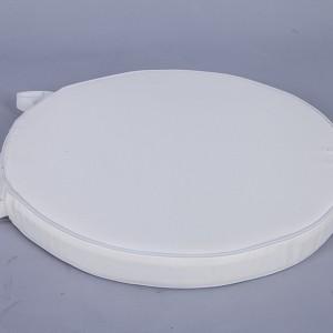 Double soft cushion white