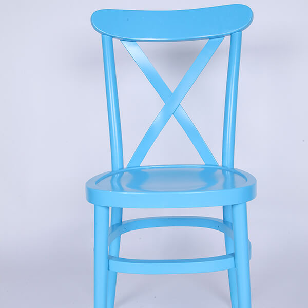Wooden tuscan chairs blue Featured Image