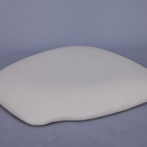 PU Hard cushions ivory color