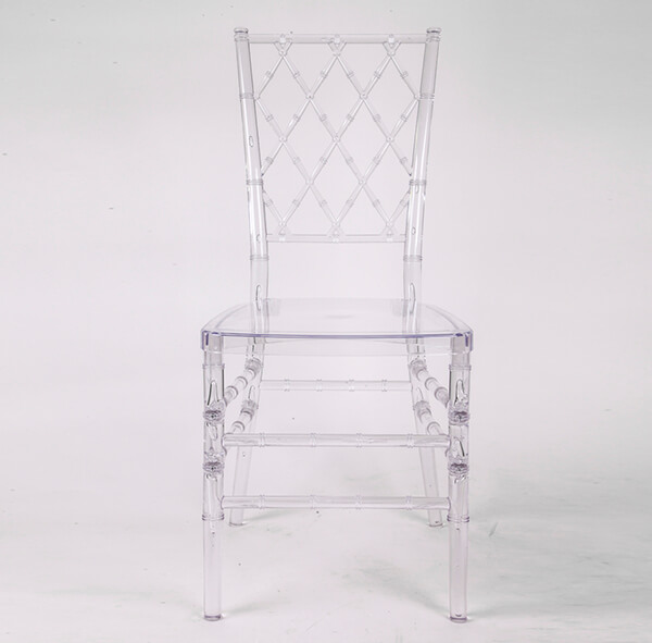 Resin diamond chair transparent Featured Image