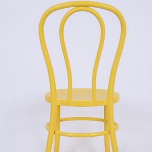 PP Resin thonet chairs Bean yellow